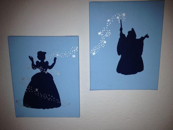 25+ Best Cinderella Silhouette Ideas On Pinterest
