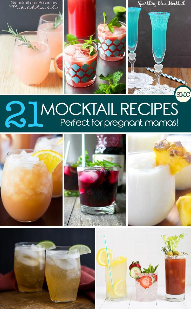 My baby shower guests are going to love these mocktail recipes! Click on the image to see all the recipes.