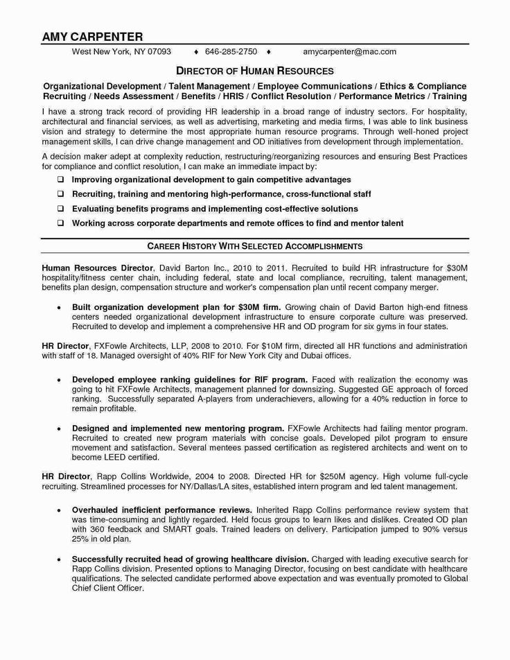human resources assistant resume unique elegant for cv best format in word federal examples 2020 sample hotel and restaurant management