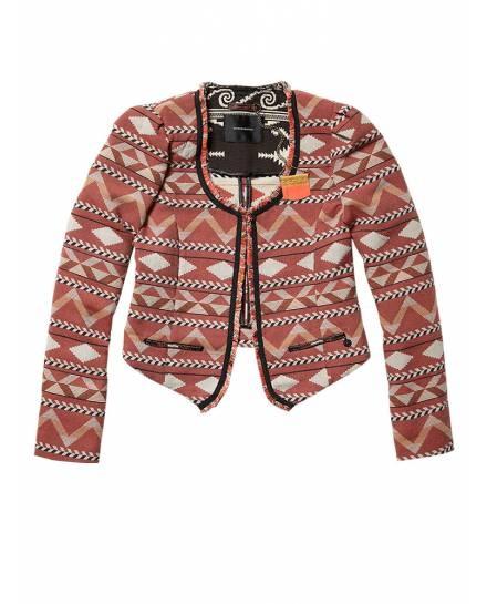 Ikat inspired fashion blazer - Blazers - Official Scotch & Soda Online Fashion & Apparel Shops