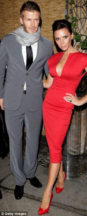 Victoria Beckham #reddress