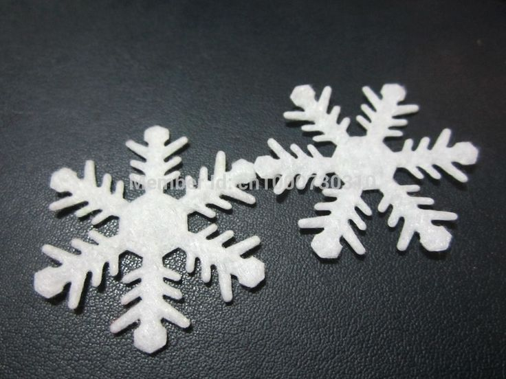 Snowflake appliques 30pcs 40mm wedding/christmas decoration /craft diy appliques A045