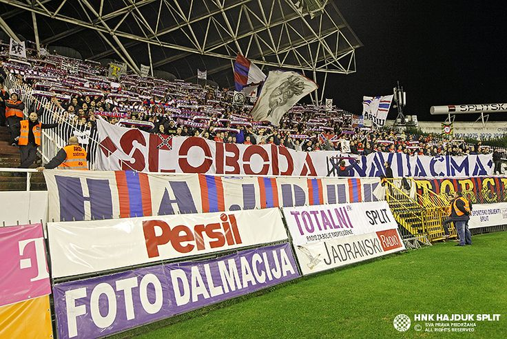 Poljud: Hajduk - Inter 2:0 • HNK Hajduk Split
