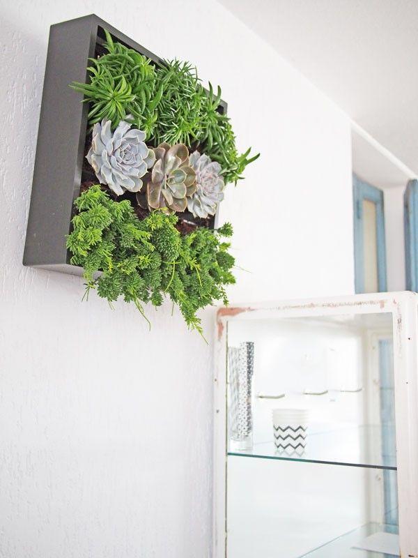 Een plantenbak maar dan net even anders: deze hang je gewoon op aan de muur. Blogger Michelle van de woonblog Dipty is fan! #wall #interior
