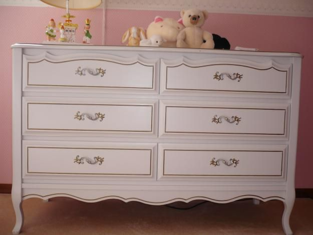 French provincial bedroom furniture French Provincial Bedroom Furniture Makeover