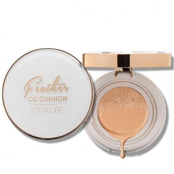 Long-lasting Moisturizer Air CC Cream Cushion Compact Foundation Makeup With Refill Pack