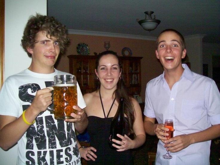 All grown up, Katie, Michael & Stephen