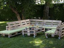 Palettenmöbel Upcycling Gartenmöbel Tisch Vintage