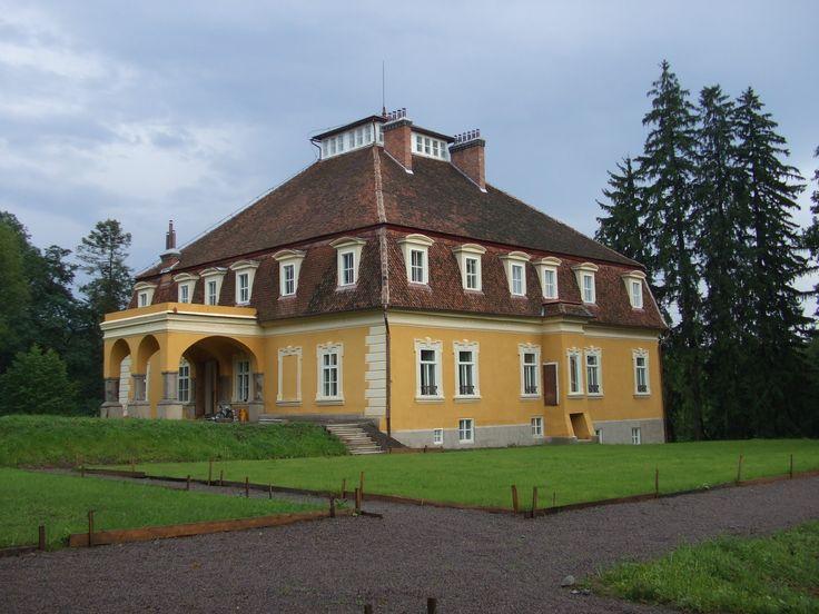 Castelul Mikes (sec. XVII-XIX), Zăbala forma actuală datează din 1867