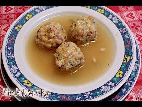 ricetta veloce canederli al formaggio - Grandma's Knödel recipe - YouTube