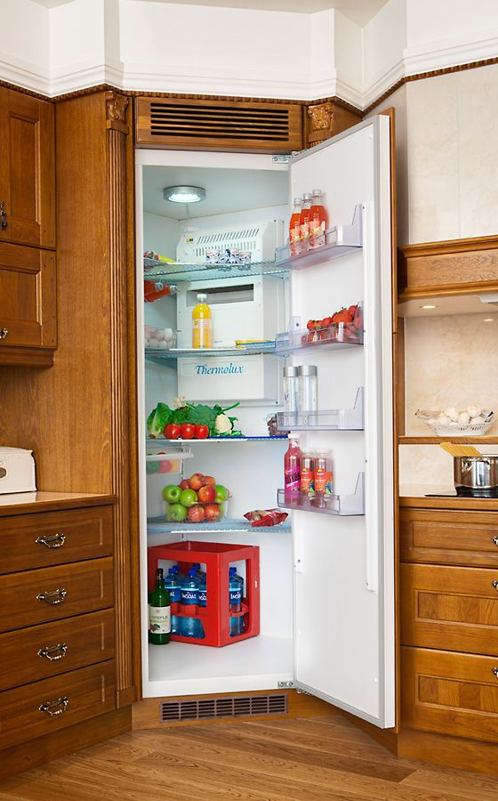 9 Best Corner Fridge Images On Pinterest Updated Kitchen