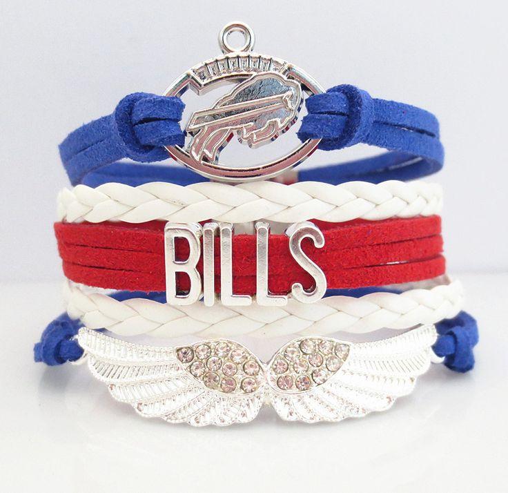 Love Buffalo Bills Football Magnetic Bracelet - 50% OFF Sale