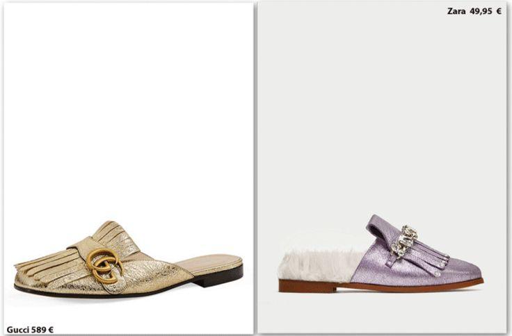 Clones: Gucci vs. Zara