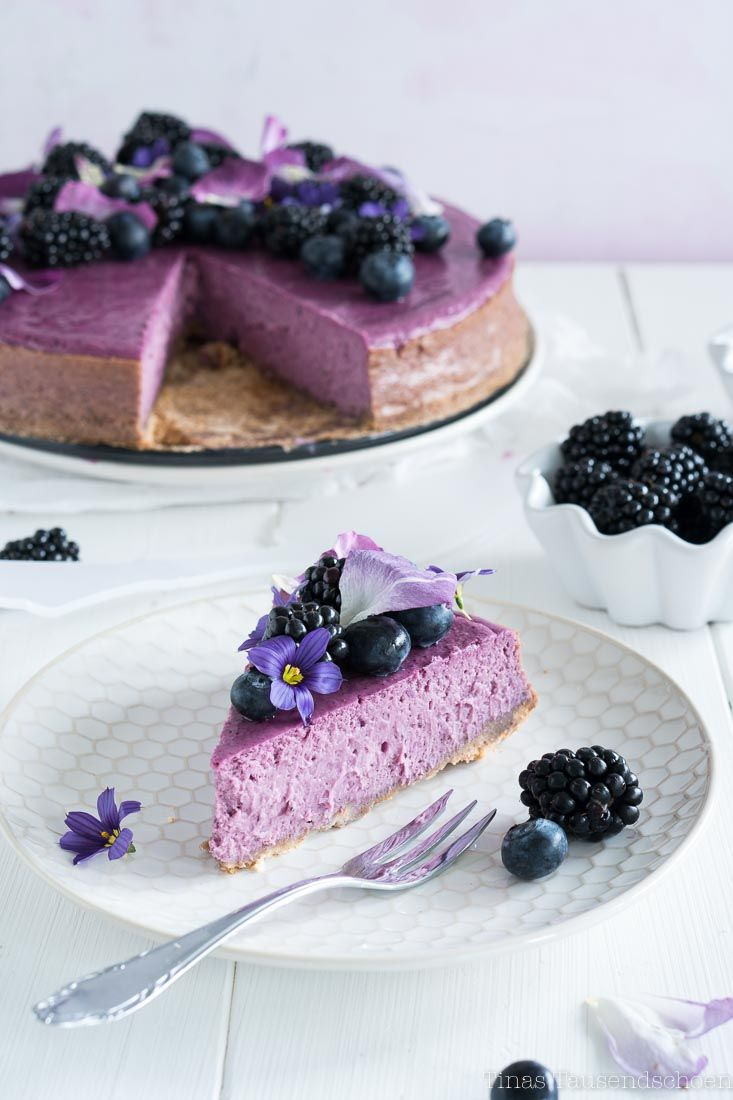 Brombeer Cheesecake