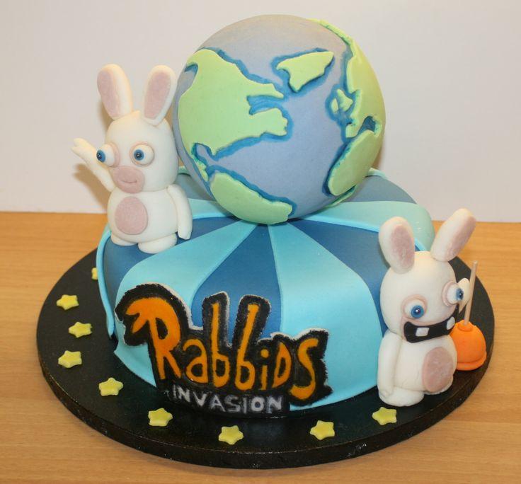 Rabbids invasion cake
