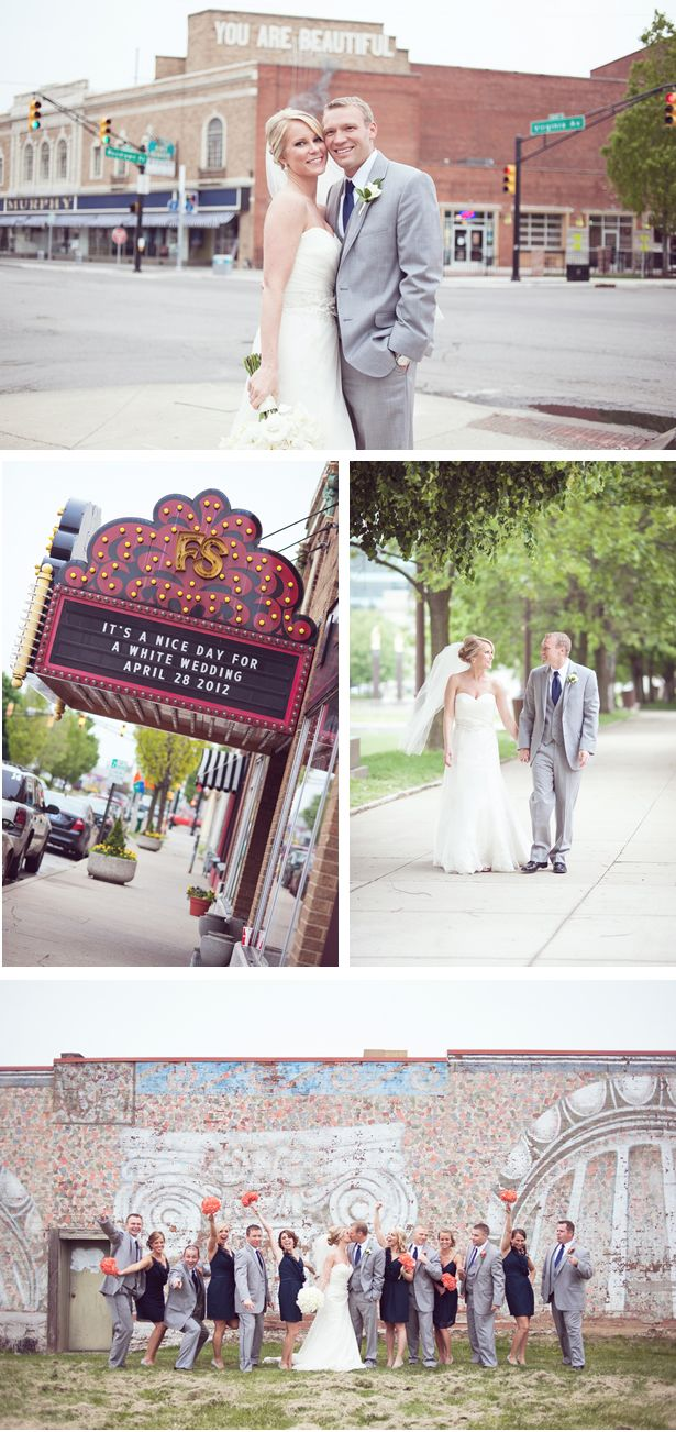 Lively Spring Wedding At An Indianapolis Landmark