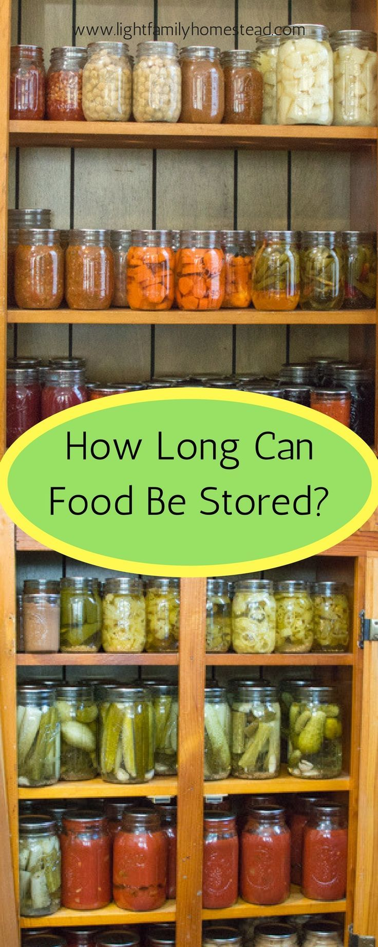 How Long Can Food Be Stored? | Posted by: SurvivalofthePrepped.com