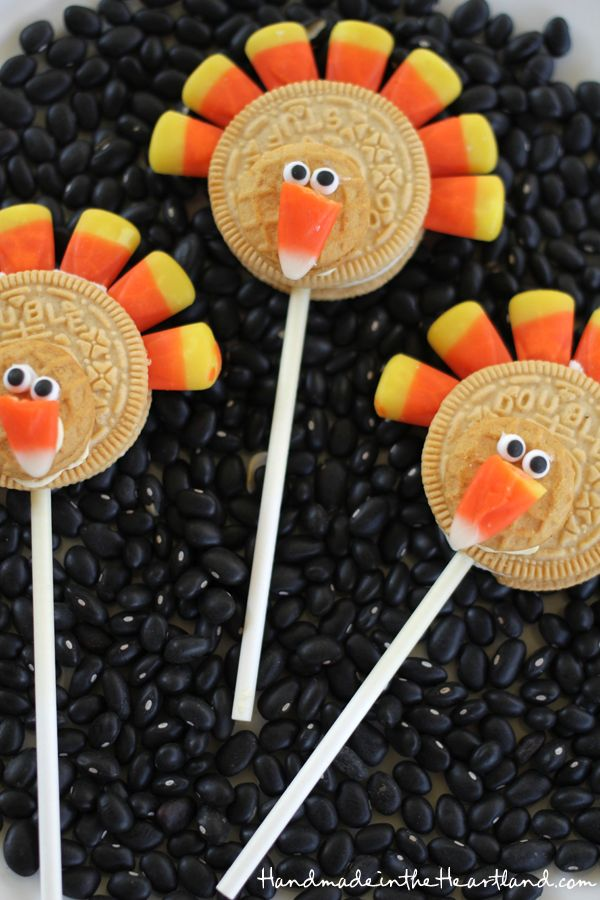 Cute Oreo Turkeys | Handmade in the Heartland: Cute Oreo Turkeys