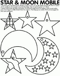 51 best sun moon stars images on Pinterest Star template