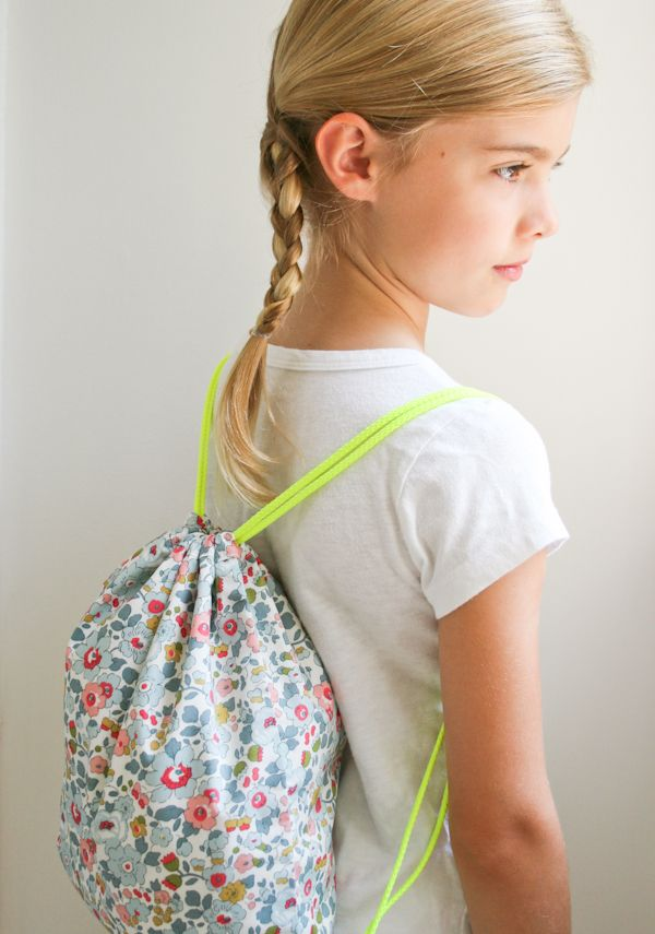 Corinne's Thread: Liberty Backpacks - The Purl Bee - Knitting Crochet Sewing Embroidery Crafts Patterns and Ideas!
