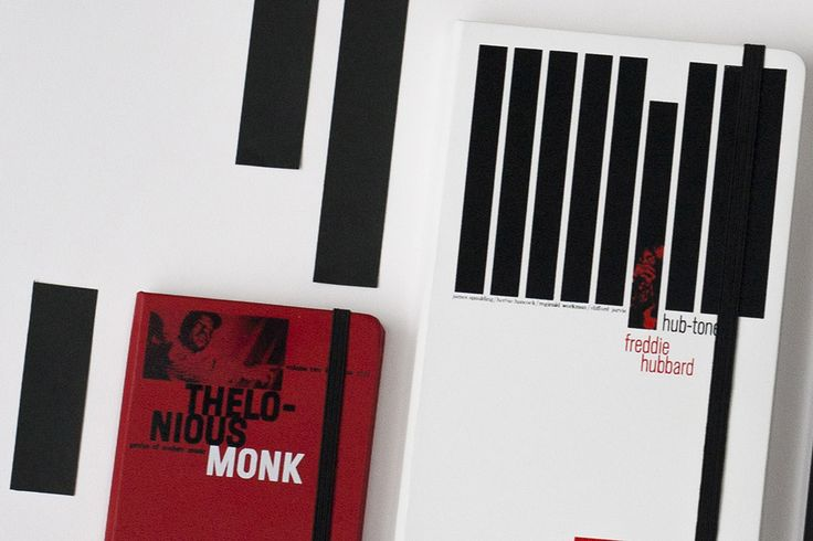 Blue Note Limited Edition Notebook Collection - Hube-Tone, Freddy Hubbard - Genius of Modern Music, Vol. 2, Thelonious Monk