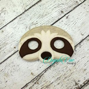 17 best images about felt projects on pinterest sleep for Sloth mask template