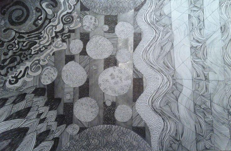 Lamina abstracta. Expresion gráfica IA