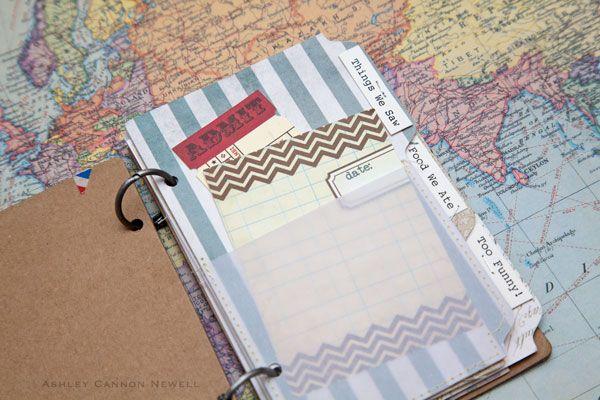 Travel Journal & Scrapbook » A New Design blog