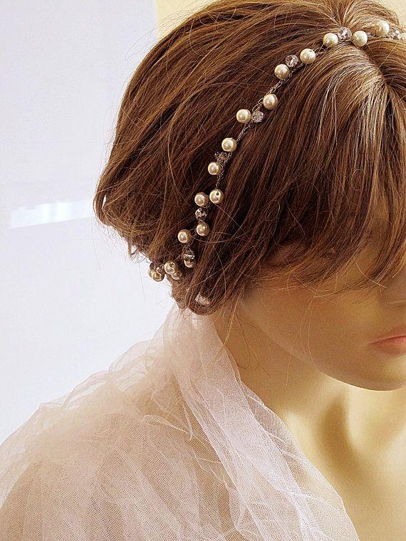 #etsy #weddingheadband #bridal #headband  #weddingaccessory #hairaccessories #etsyfinds #etsyseller