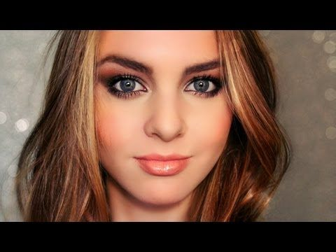 ▶ Cara Delevingne Makeup Tutorial - Deep Chocolate Brown Smokey Eyes & Sculpted Face! - Jackie Wyers - YouTube