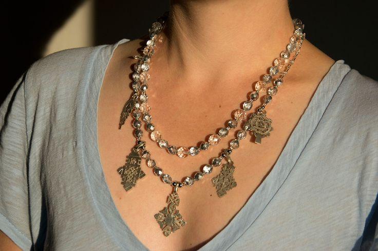 Ethiopean crosses beads