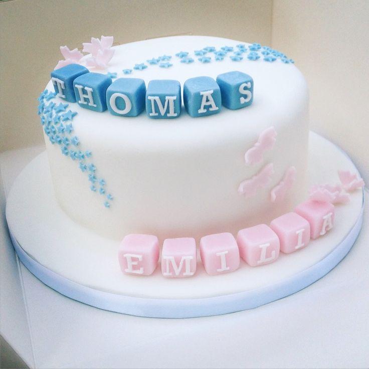 Unique Baptism Cakes Boy