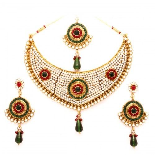 Vendee Fashion Pretty Bridal Wear Jewelry (7083)