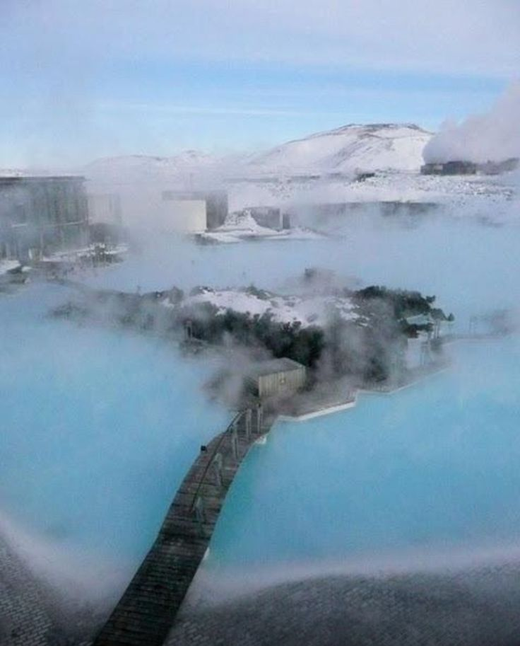 Ethereal Blue Lagoon Iceland