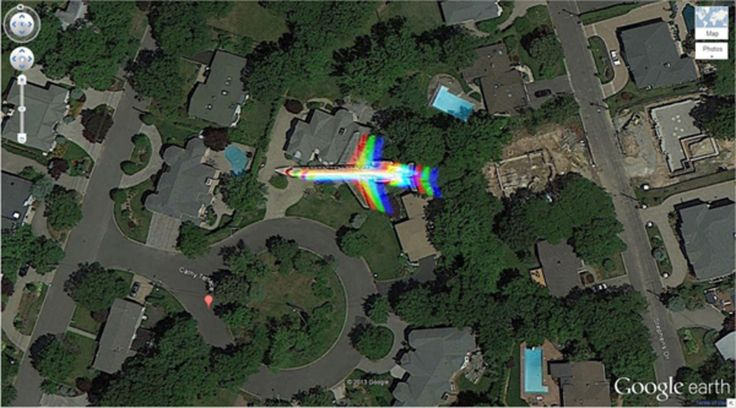 29 Of The Coolest Things Ever Found On Google Earth.