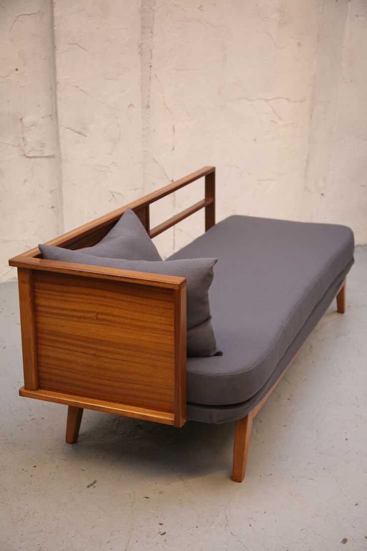 This is like a cruel joke. The most perfect piece of furniture EVER. Mid century, daybed, chaise, fainting sofa, dreamy.