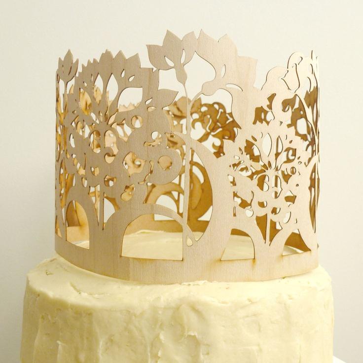 Jonquil Cake Topper. $65.00, via Etsy.