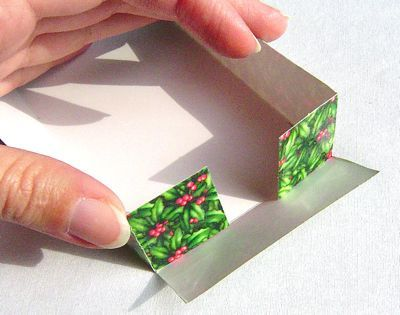 create a gift box: how to create a gift box from a card