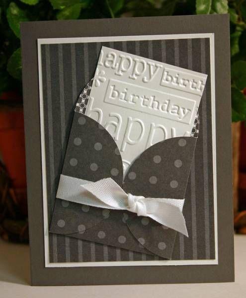 Petal Pocket Birthday Card...