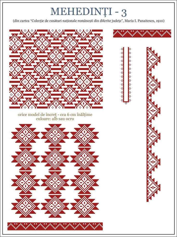 1000 Images About Motive Traditionale Romanesti On Pinterest Folk Art Weaving Patterns And