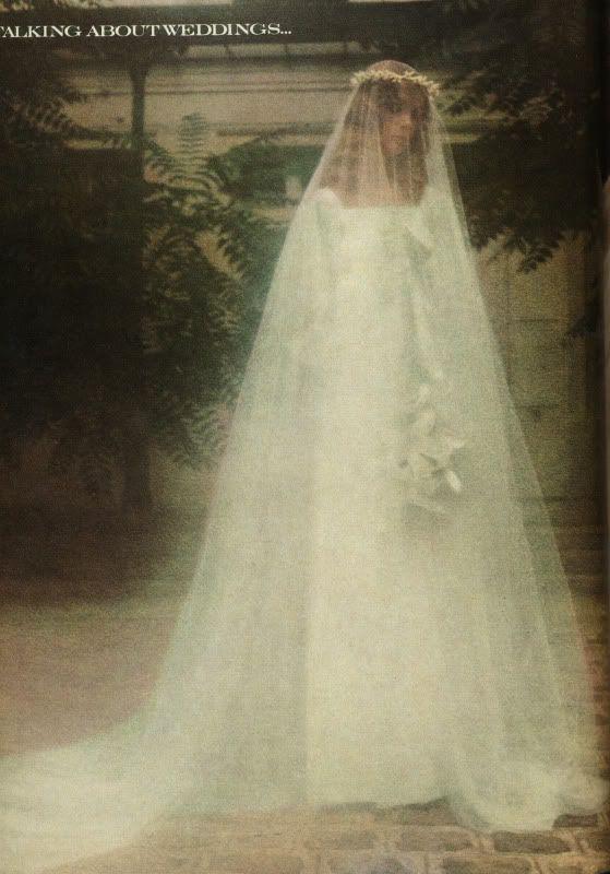 17 best images about bridal vintage on pinterest vintage for Yves saint laurent wedding dress