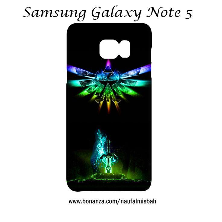 Rainbow Legend of Zelda Triforce Samsung Galaxy Note 5 Case Wrap Around