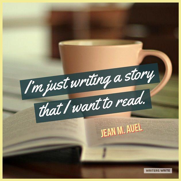 Quotable – Jean M. Auel - Writers Write