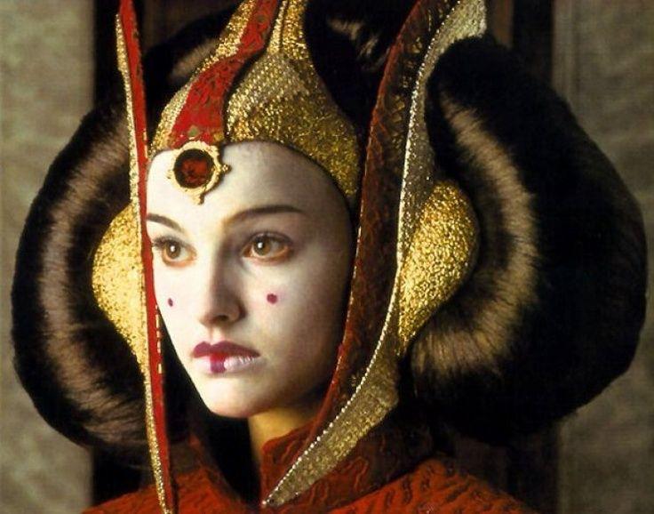 queen amidala headpiece | Queen Amidala 'StarWars Episode I: The Phantom ... | Padme Amidala's ...