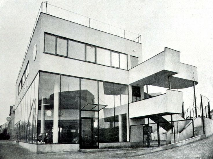 17 best images about bauhaus modern architecture on for Architecture 1930