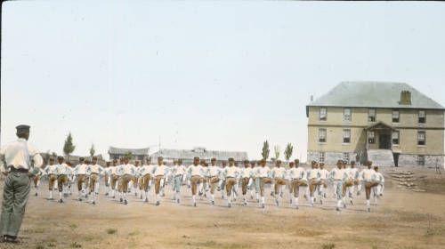 Drill at Pai Chai School, Seoul, [s.d.]. http://digitallibrary.usc.edu/cdm/ref/collection/p15799coll48/id/680