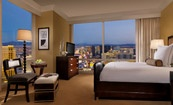 Trump Hotel Las Vegas, One Bedroom Corner Suite,strip view. Last time we stayed there they gave us a free upgrade (value of 75 dollars!) Hotel Suites in Las Vegas Nevada | Trump Las Vegas - Guest Rooms & Suites | Vegas Hotel Rooms