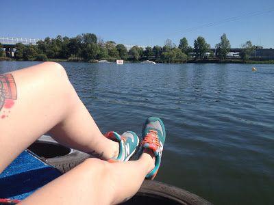 Gdzie mnie buty poniosą! #shoes #shoesontour #newbalance #wake #wakeboard #lake