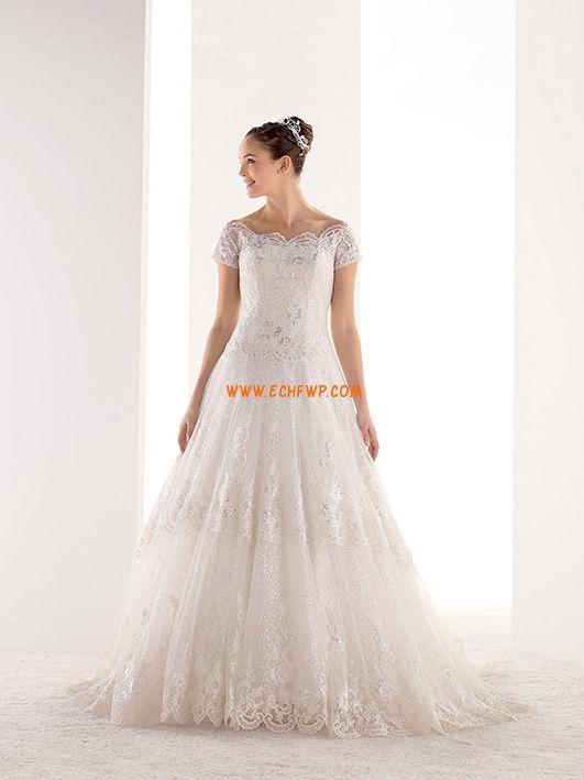 Princesové Elegantní & luxusní Léto Svatební šaty 2014