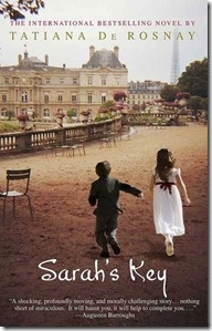 Sarah's Key by Tatiana de Rosnay.  Julia Jammond, an American and journalist, researches for the 60th anniversary the round-up of Jews in Paris 1942 .  The story follows Julia's present day life and parallels a ten year old girl's perspective of the event.  Read if you like character driven historical and psychological fiction.